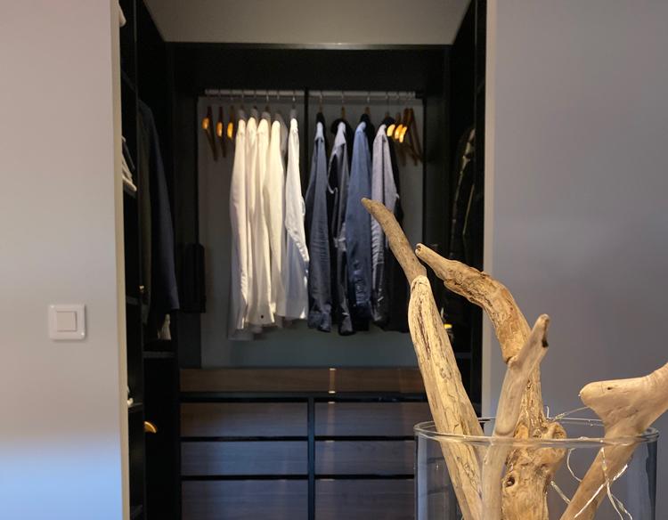 Aménagement de dressing